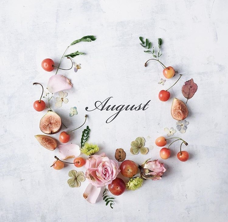 Hello August + Thoughtful Inspiring Quotes