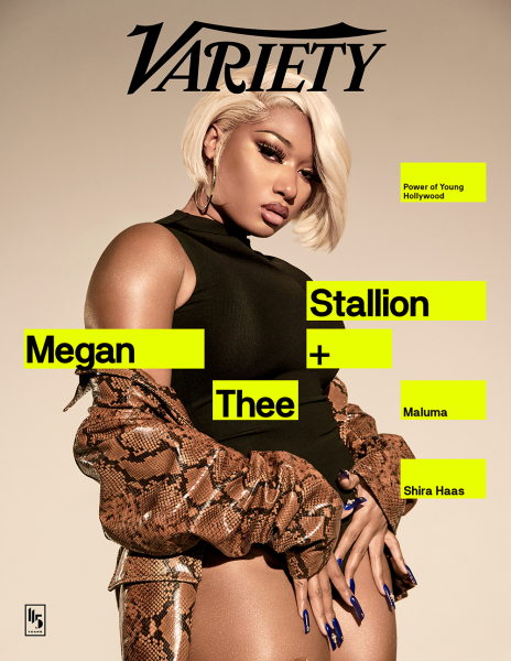 Megan Thee Stallion Covers Variety