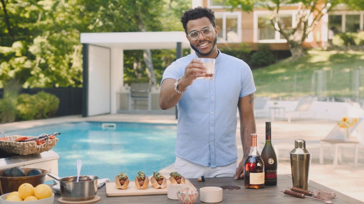 "Rémy Martin & Chef Kwame Onwuachi Launch ""Flavor by the Grill"""