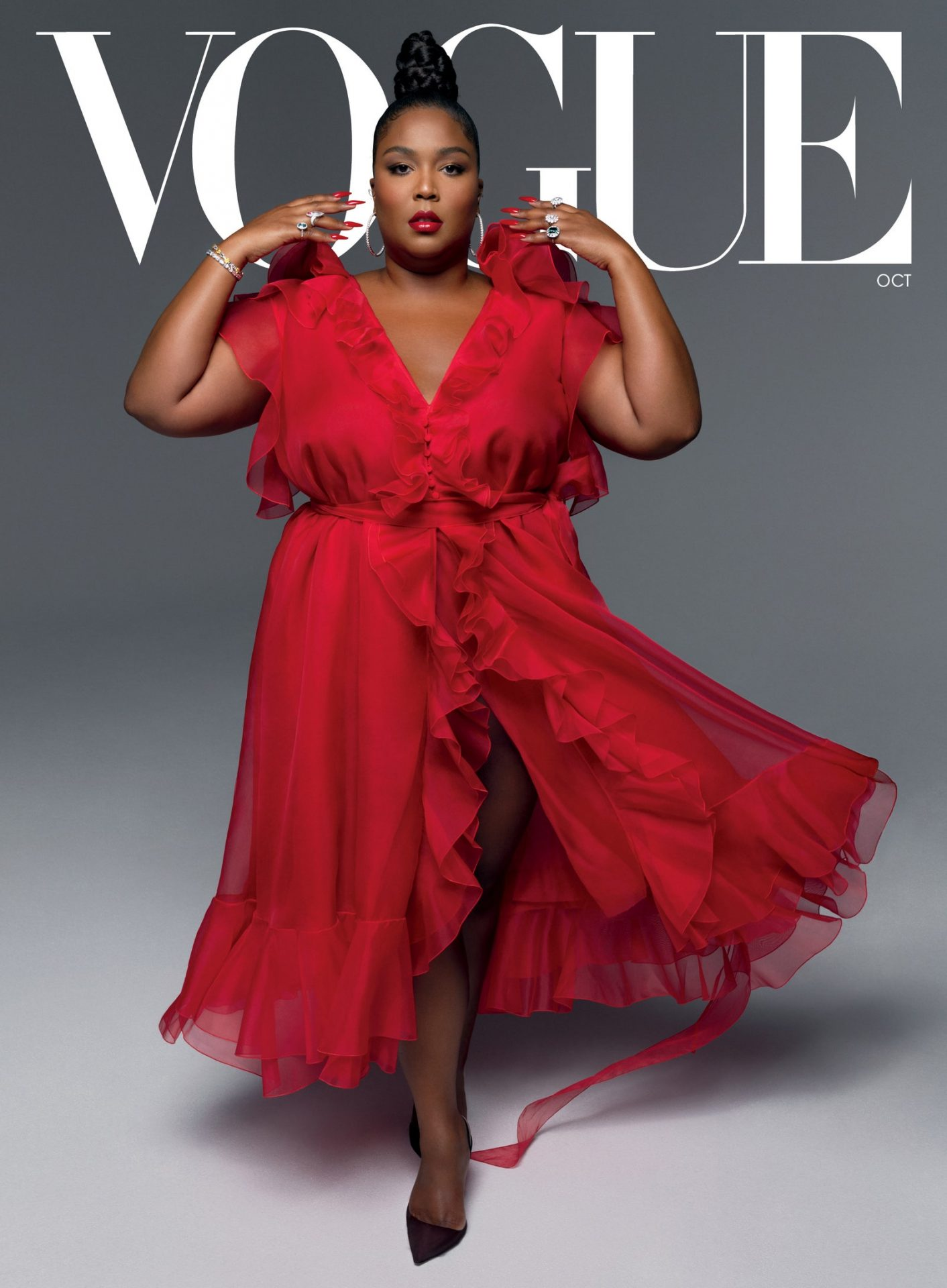 Lizzo Covers Vogue, Talks Election, Justice & Body Positivity