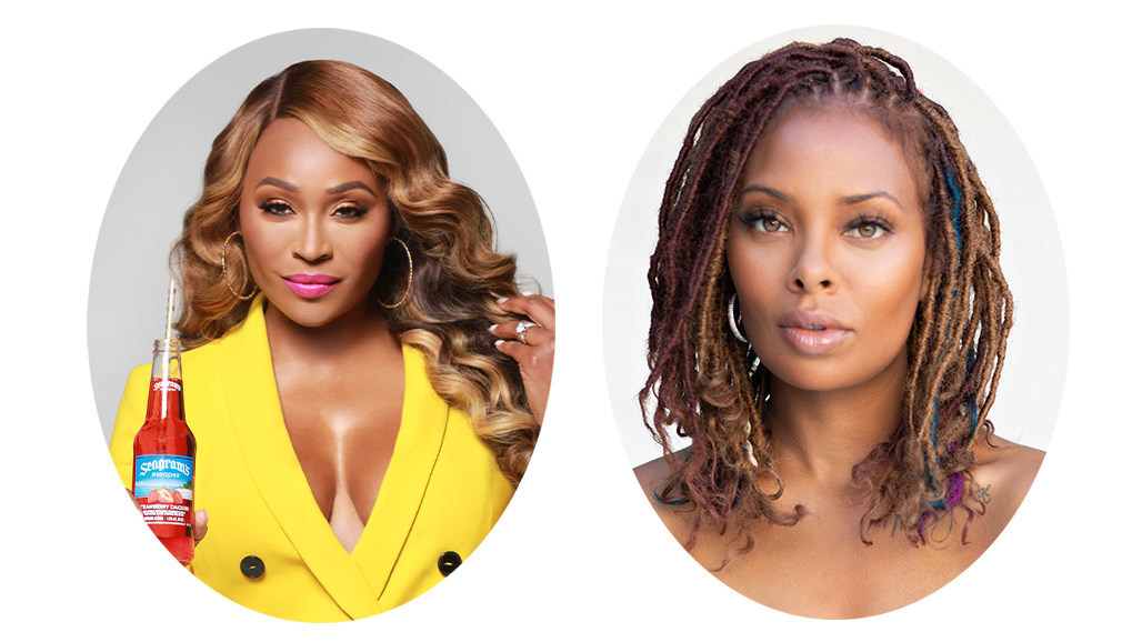 Seagram's Escapes Partners with Cynthia Bailey and Eva