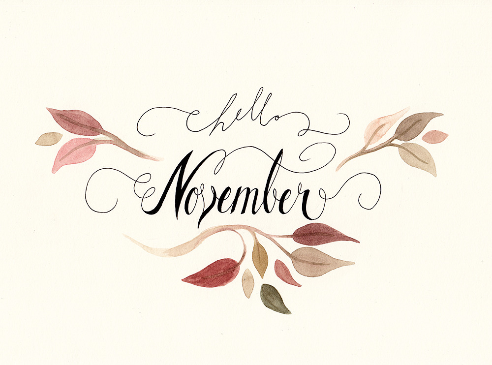 Hello November | Chapter 11 of 12