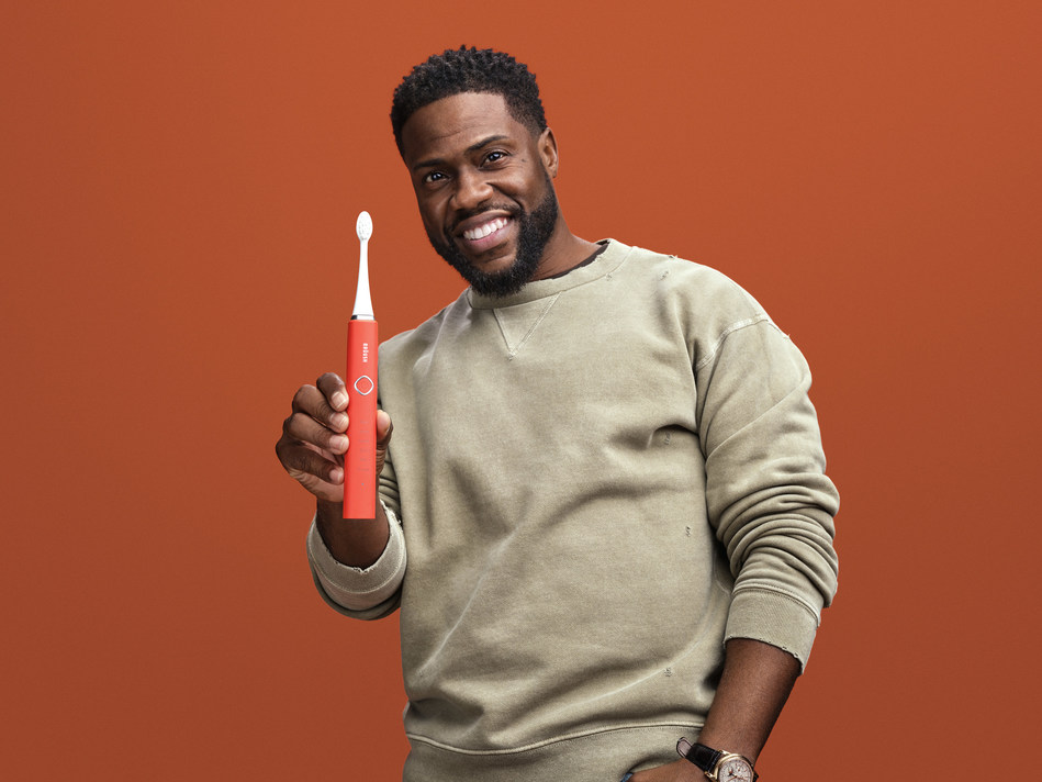 Kevin Hart Partners with Brüush Oral Care
