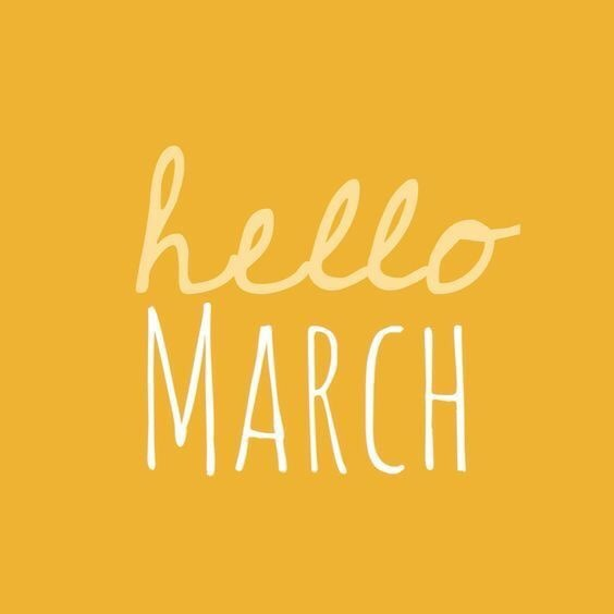 Hello March & 10 Quotes of Rebirth