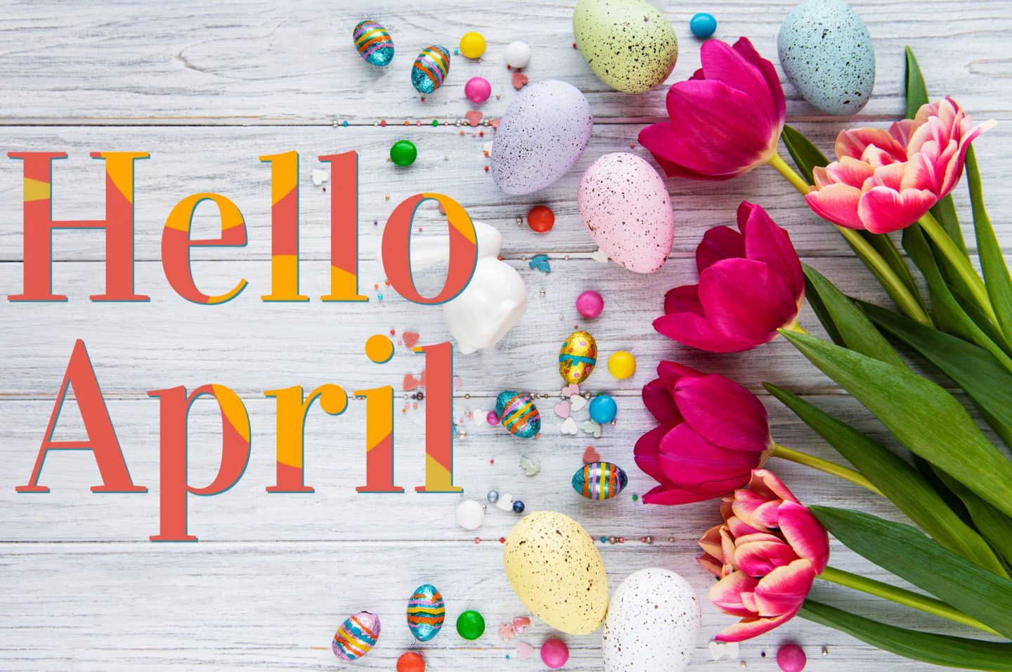 Hello April + 6 Quotes of Elevation