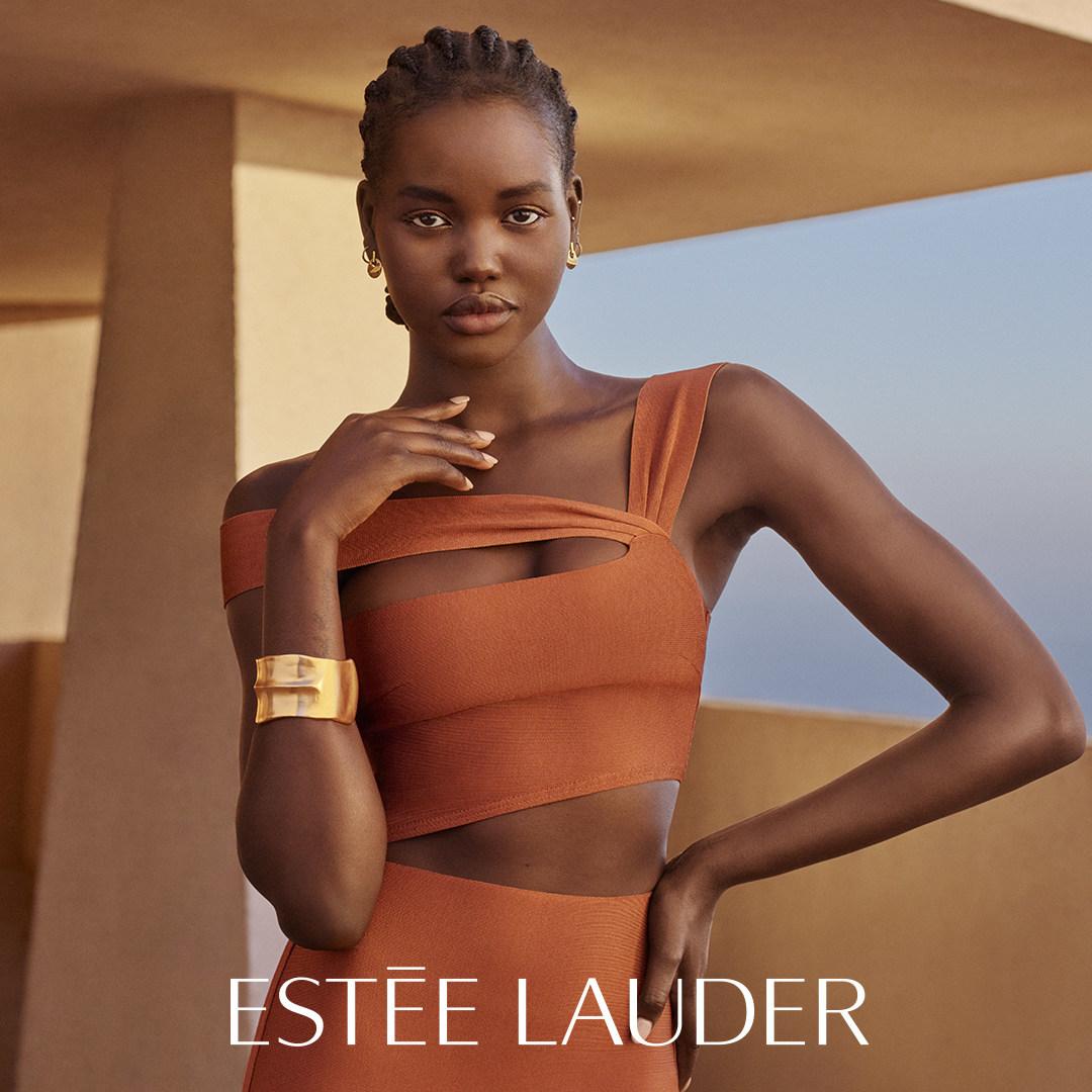 Estée Lauder Signs Adut Akech as New Brand Ambassador