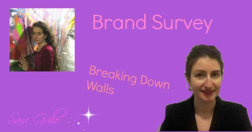 Sara Grillo - Brand Survey Breaking Down Walls