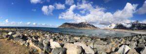 Flakstad, Lofoten, Norwegen