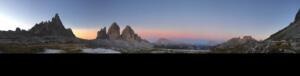Sunrise, DreiZinnenhütte