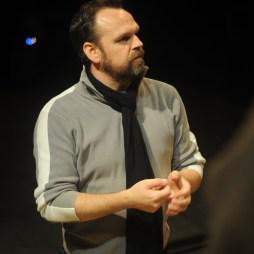 Klaus-Michael Vetter bei der Arbeit