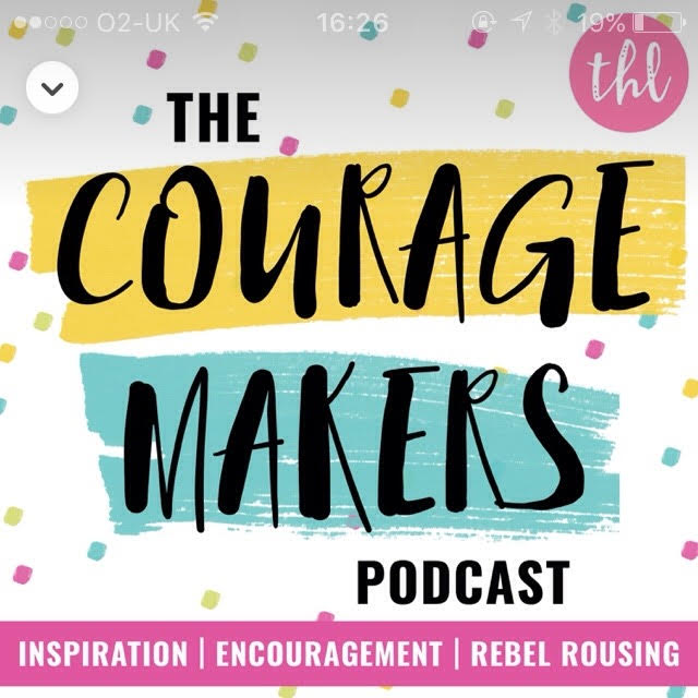 On courage making, podcasts and commuting