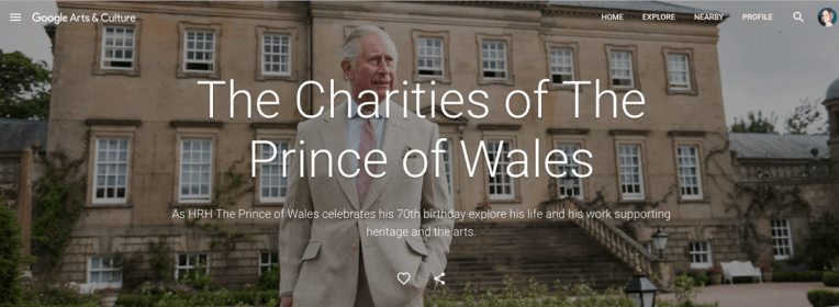 The Charities of The Prince of Wales