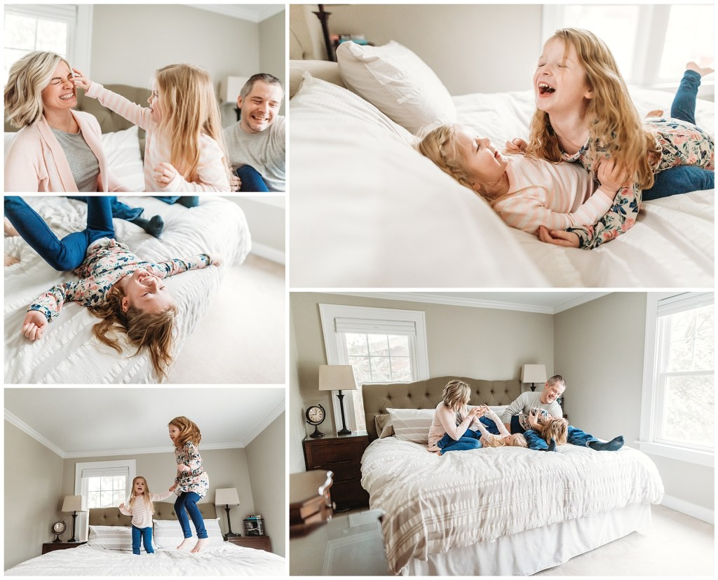 In-Home Lifestyle Family Session