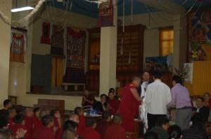 Dalai Lama Secretary's visit