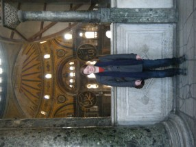 At the Loge of the Empress, Hagia Sophia