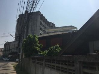 Lampang abandoned buildings.