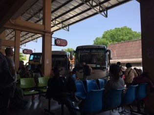 Bus to Lampang. $4 for 1.5 hours, and easy to book and navigate!