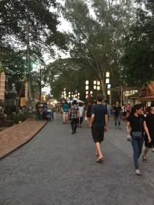 Friday night market.