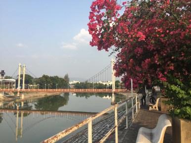 Bridge across Wang River, Lampang.