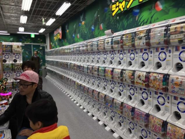Lots of capsule toys
