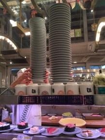 Conveyor built sushi