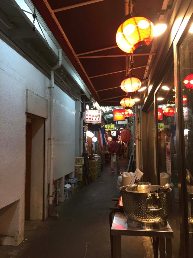 Harmonia alley in Tokyo's Kichijoji neighborhood. Lots of small pubs and eateries