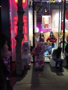 Harajuku entertainers. Harajuku is known for youth fashion