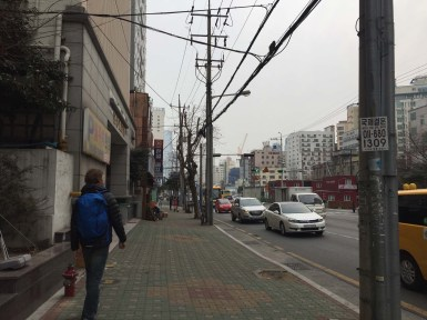 Welcome to Busan! The air pollution was pretty bad.