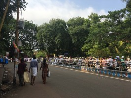 Catholic rally in Thrissur.