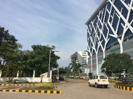 Kochi's Infopark. Epicenter of IT work for the state.