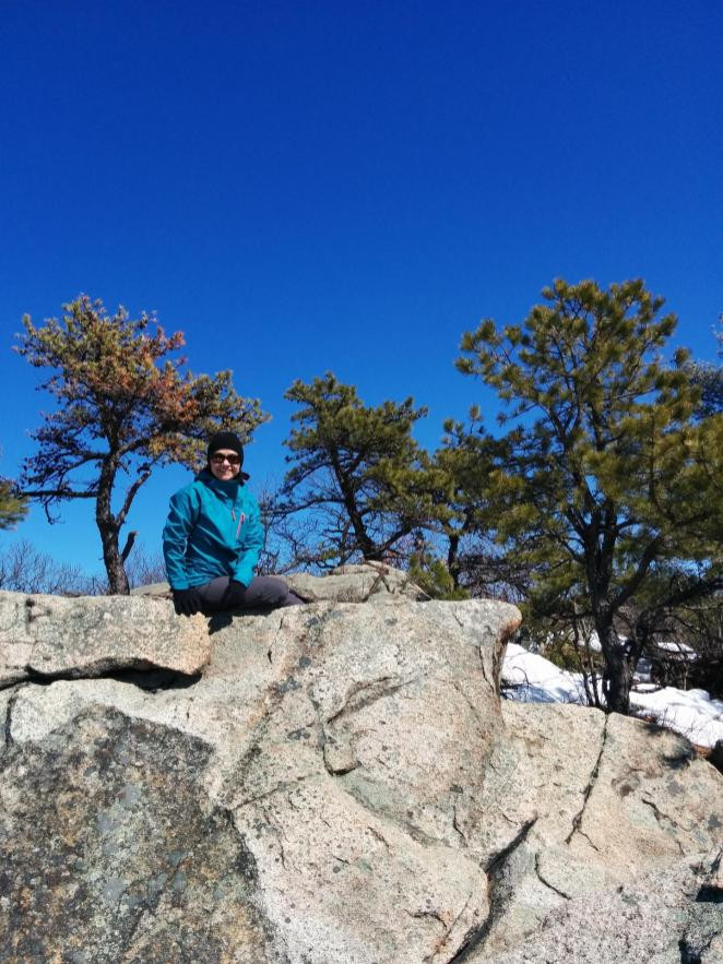 Hiking in the Blue Hills