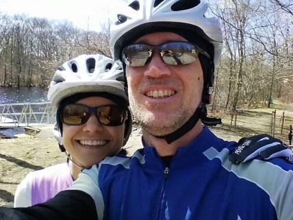 Cycling around Boston