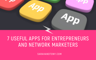 7 Useful Apps for Entrepreneurs and Network Marketers