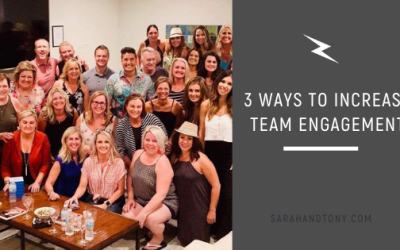 3 Ways to Increase Team Engagement