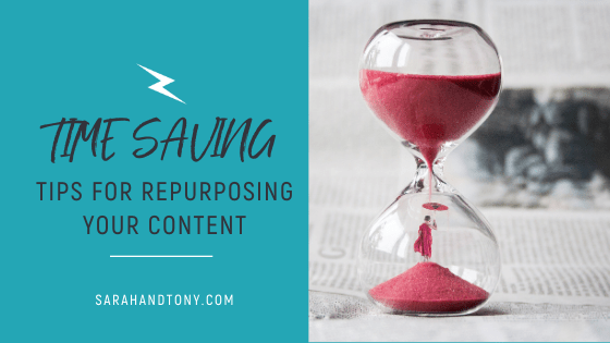 Time Saving Tips for Repurposing your Content