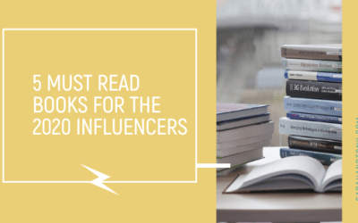 5 Must Read Books for the 2020 Influencers
