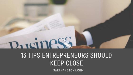 tips entrepreneurs