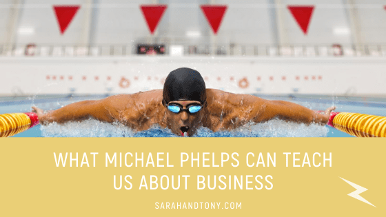 What Michael Phelps can Teach us about Business