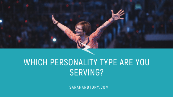 Which Personality Type are you Serving?