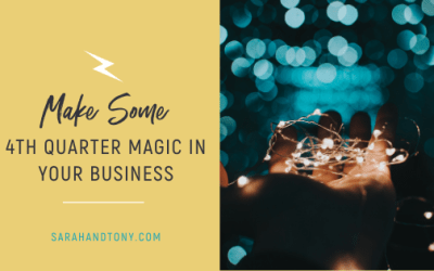 Make some 4th Quarter Magic in your Business