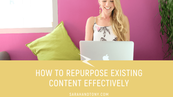 repurpose existing content