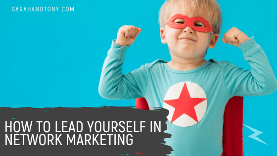 lead yourself in network marketing