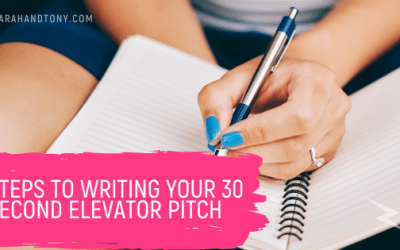Steps To Writing Your 30 second Elevator Pitch