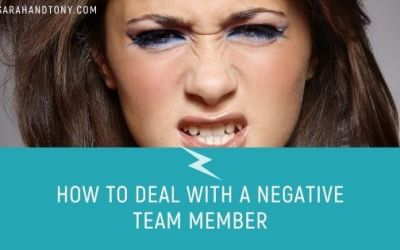 How to deal with a negative team member