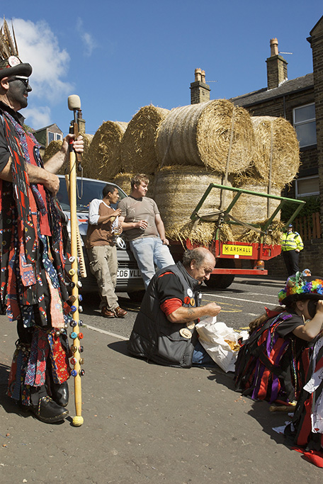 Rushbearing Festival, Sowerby Bridge, Yorkshire