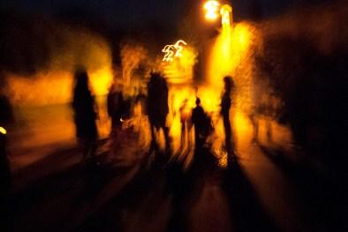 Punkie Night gathering, Hinton St George, Somerset