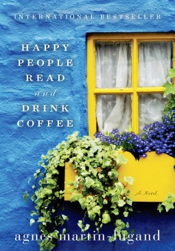 Happy People Read Drink Coffee