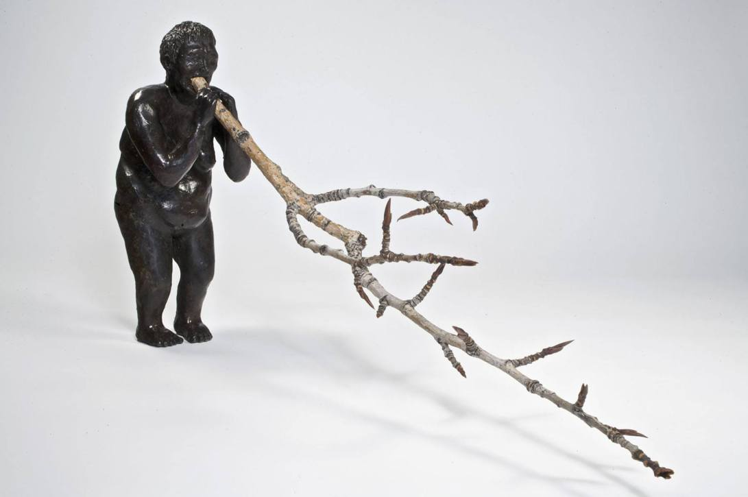 Poison Branch - 2008 - Dimensions variable - Bronze and Twigs