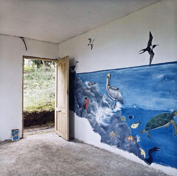 Ocean Mural - 2006 - 15 x 15 - Chromogenic Print