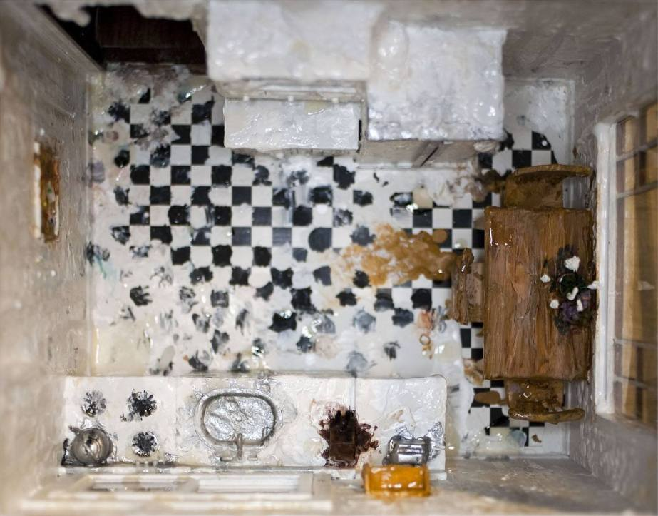Kitchen (Detail of House on Fire) - 2009 - Mixed Media